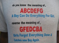 abcdefg meaning