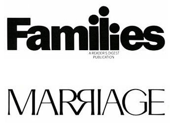 families and marriage logos
