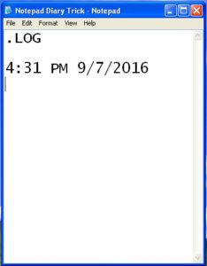 notepad-diary-trick