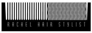 rachel hair stylist logo