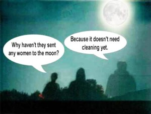 why no women on moon
