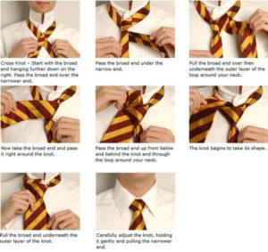 cross-knot-tie
