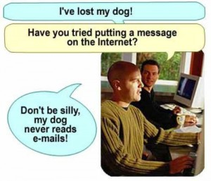 lost my dog