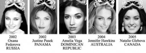 miss universe 2002-2005