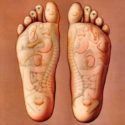 sensory touches at foot